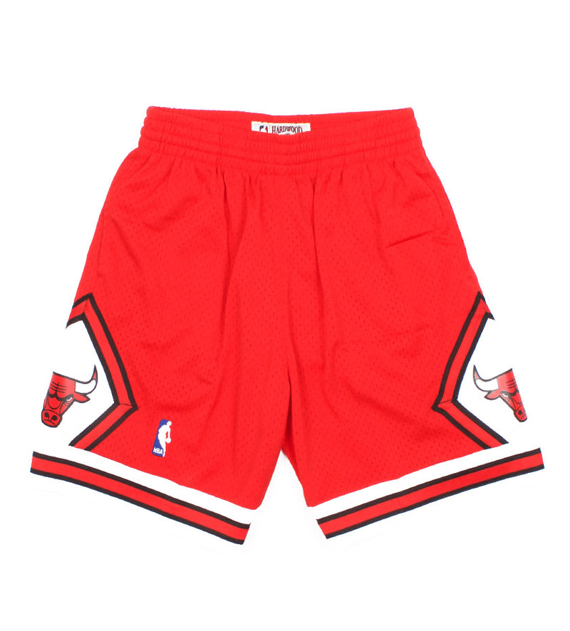 Chicago Bulls Swingman Shorts (Red)