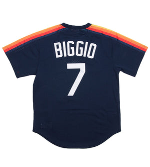 Craig Biggio 1991 Authentic Mesh BP Jersey Houston Astros