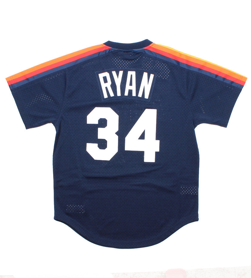 Nolan Ryan 1988 Authentic Mesh BP Jersey Houston Astros