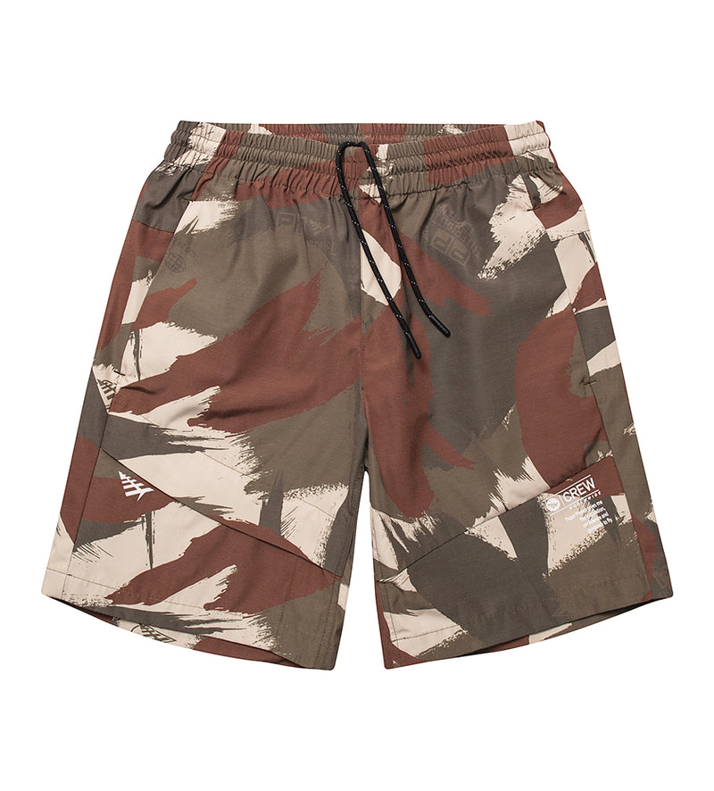 PRW Shorts (Woodland Camo)