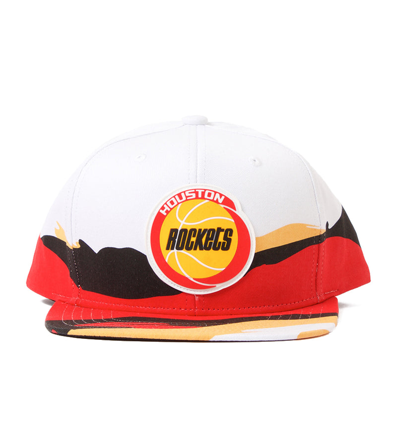 Rockets Viewpoint Snapback (White/Red/Black/Yellow)