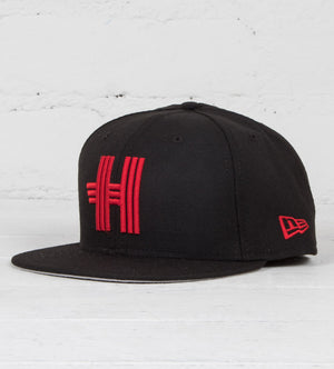 Racing H New Era (Black/Red)