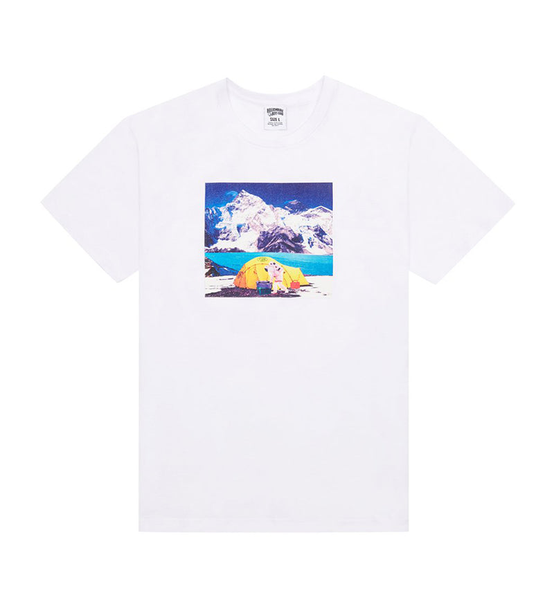Camping S/S Tee (White)
