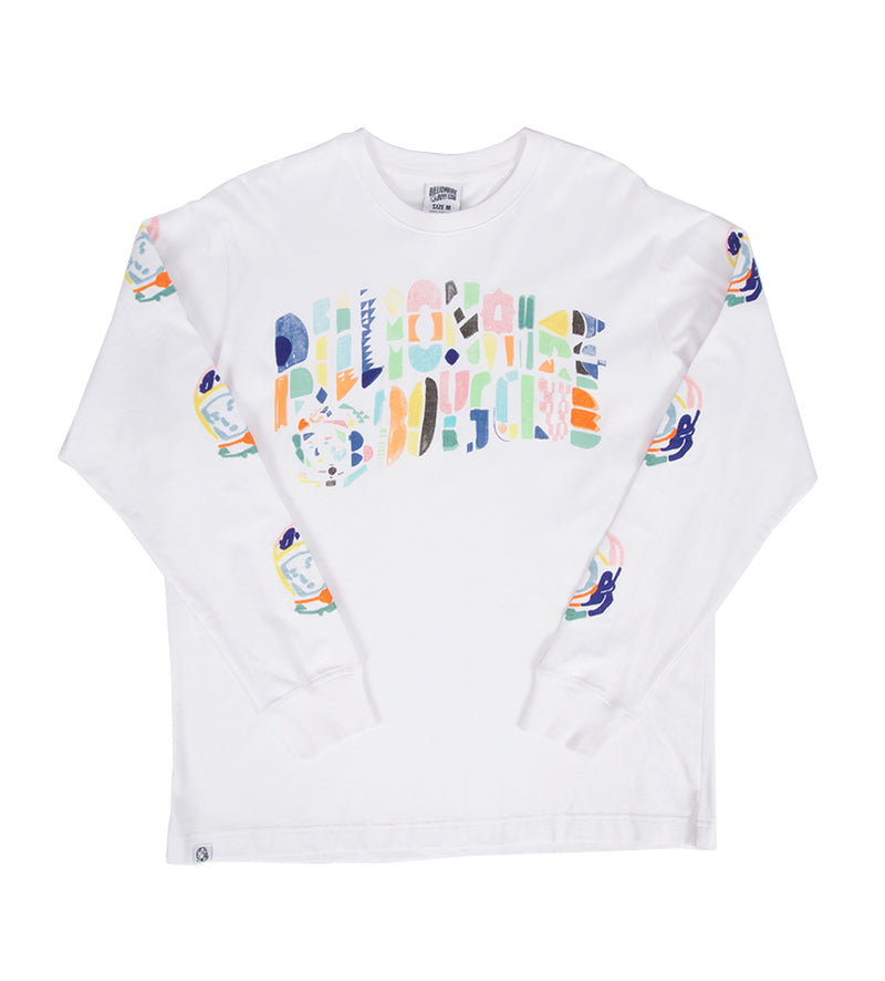 Abstract Arch L/S Knit (White)