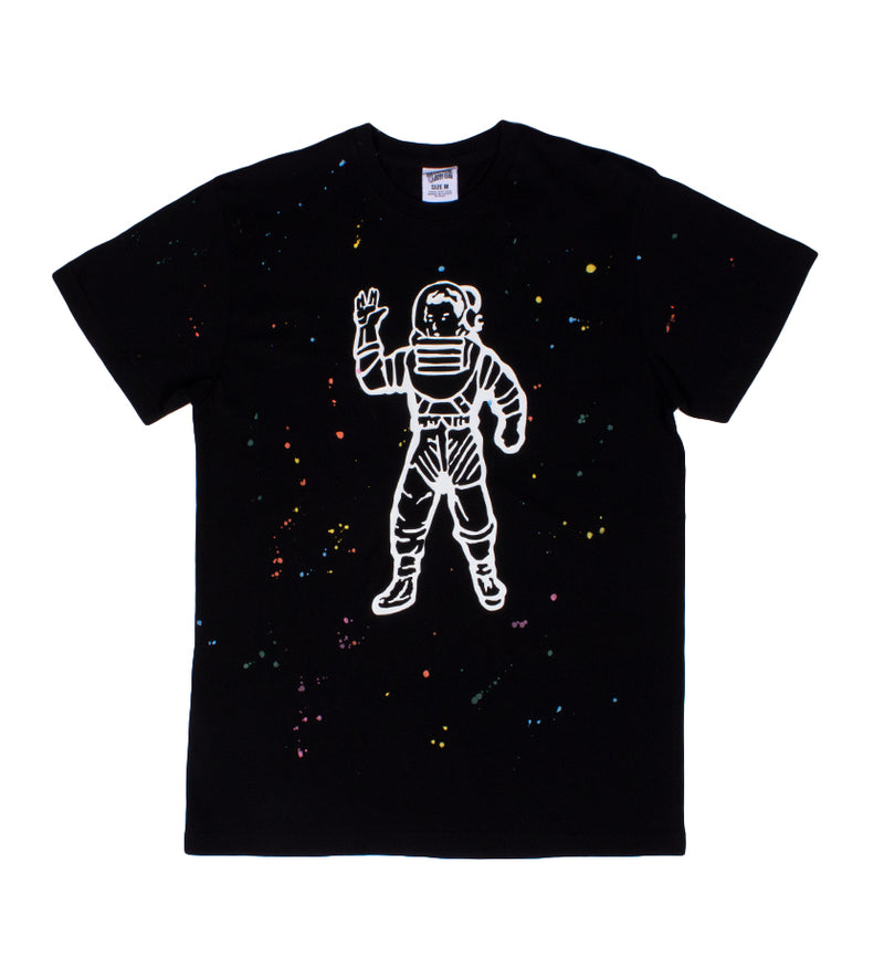Astro Spattered S/S Knit (Black)