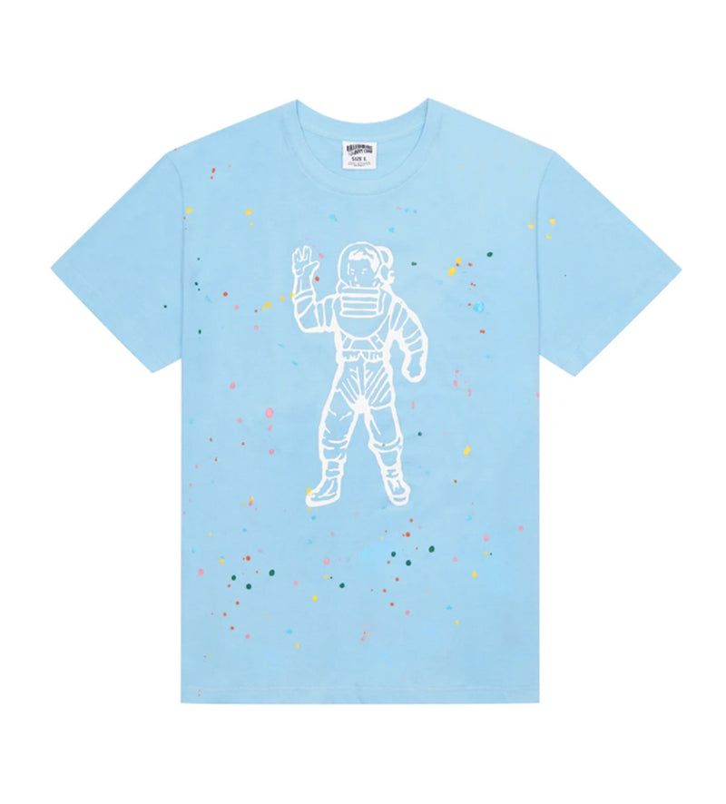 Astro Spattered S/S Knit (Sky Blue)