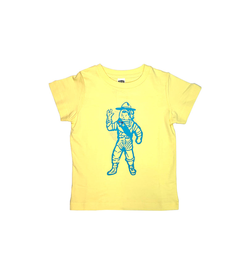 First Class S/S Kids Knit (Lemon)