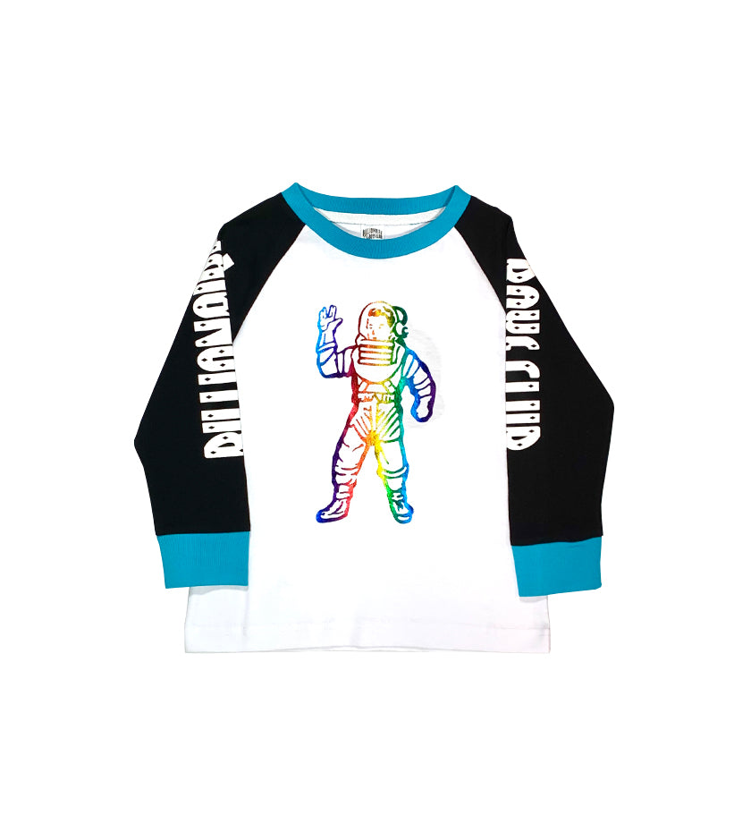 Eagle Rank Kids Raglan (White)