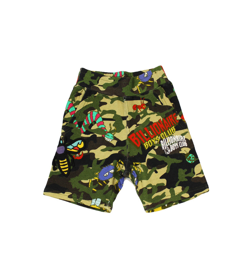 Insects Kids Short (Reed Yellow)