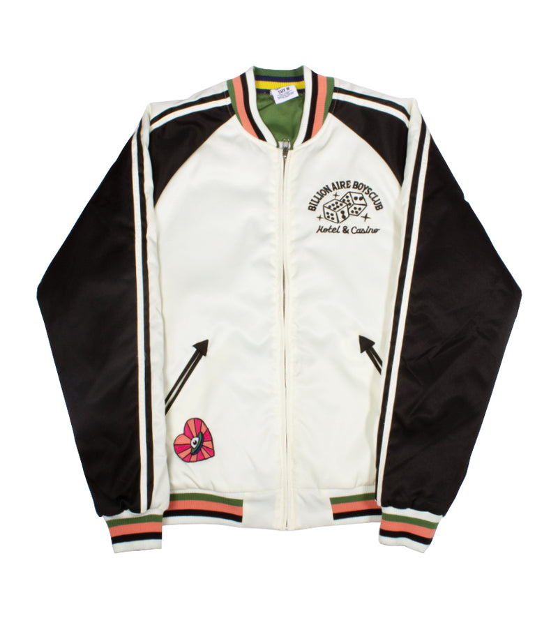 Momento Reversible Jacket (Antique White)