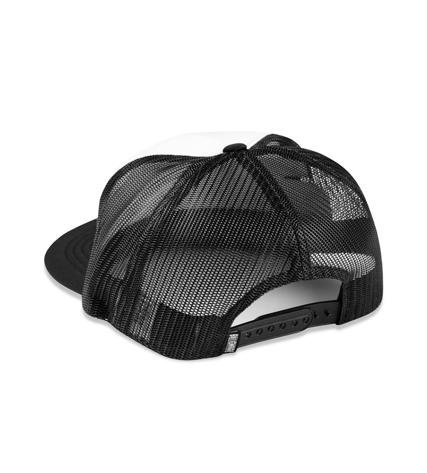 Helmet Trucker Hat (Black)