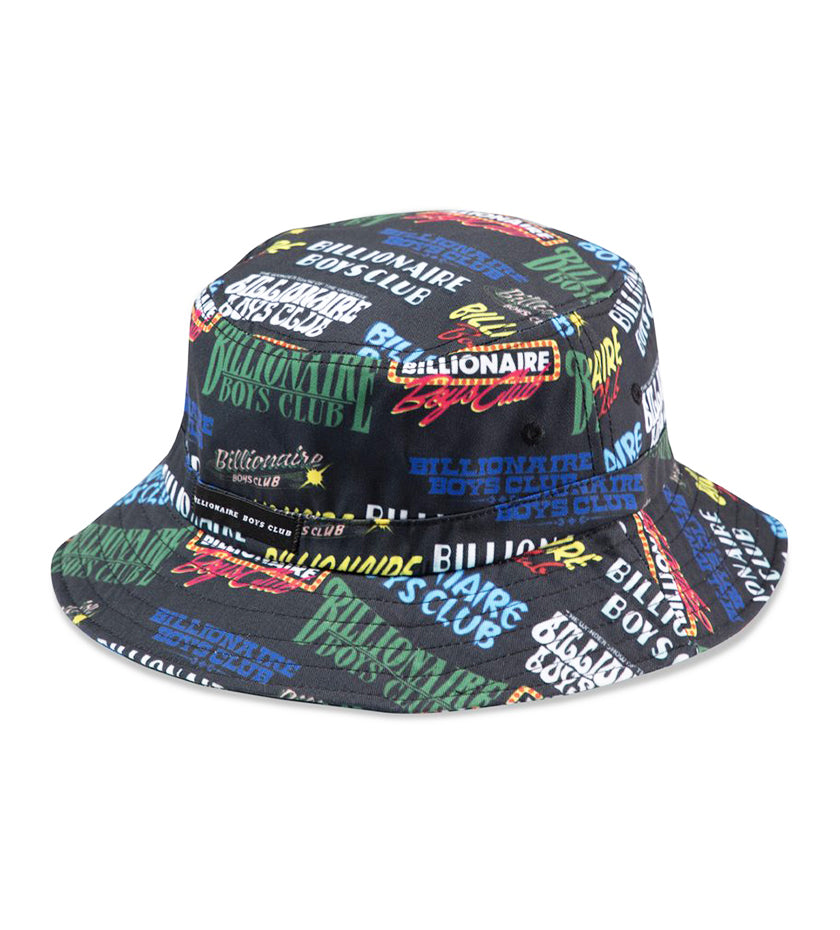 High Roller Bucket Hat (Black)