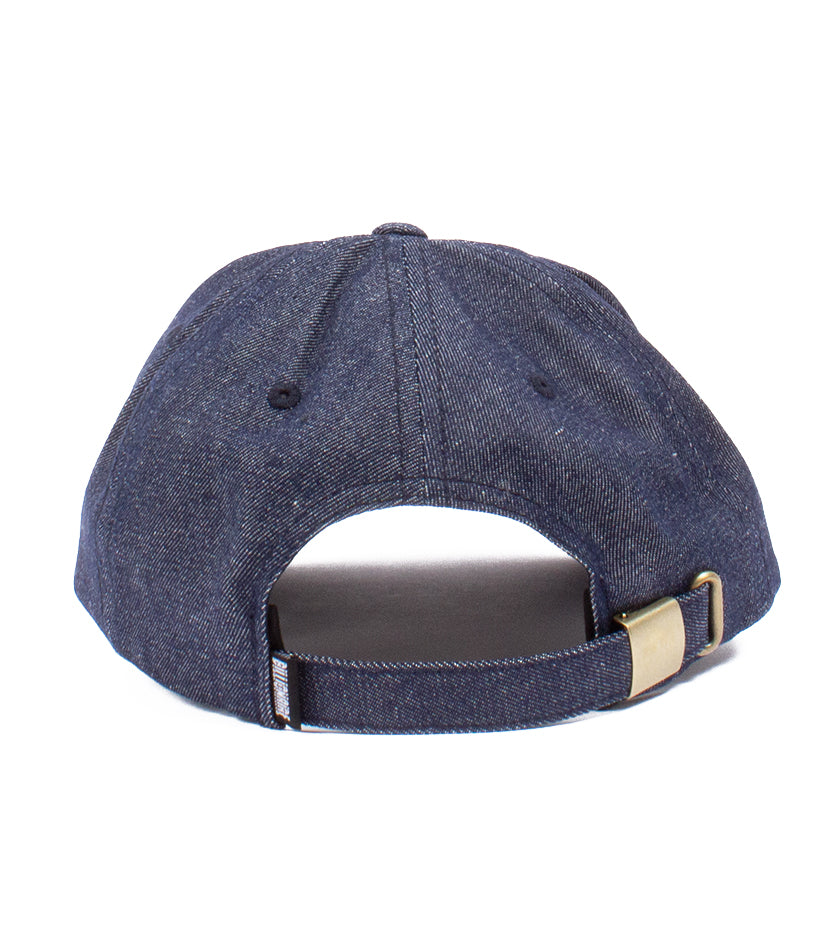Denim Slouch Dad Hat (Indigo)
