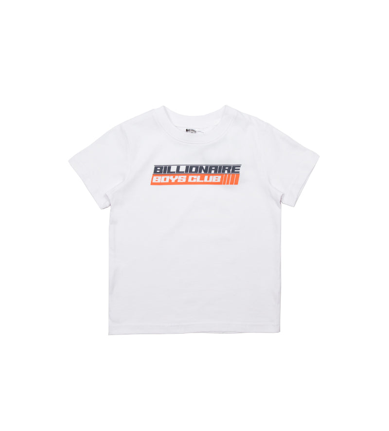 Speed S/S Kids Tee (White)