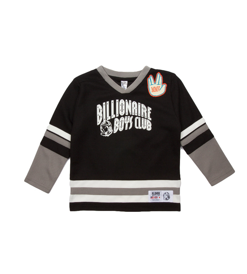 Slapshot L/S Kids Knit (Black)