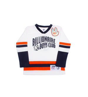 Slapshot L/S Kids Knit (Whisper White)