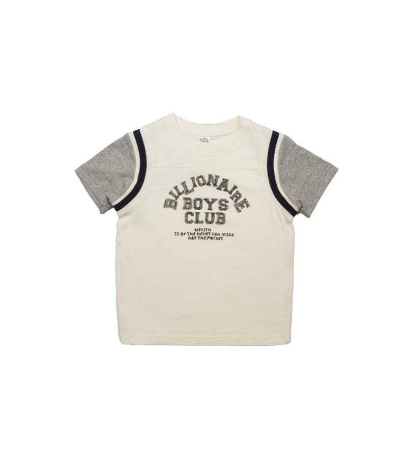 League S/S Kids Knit (Whisper White)