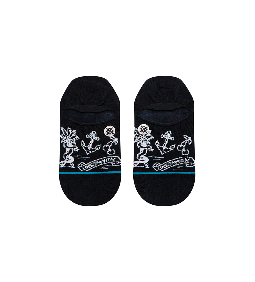 Snake Palm Socks (Black)