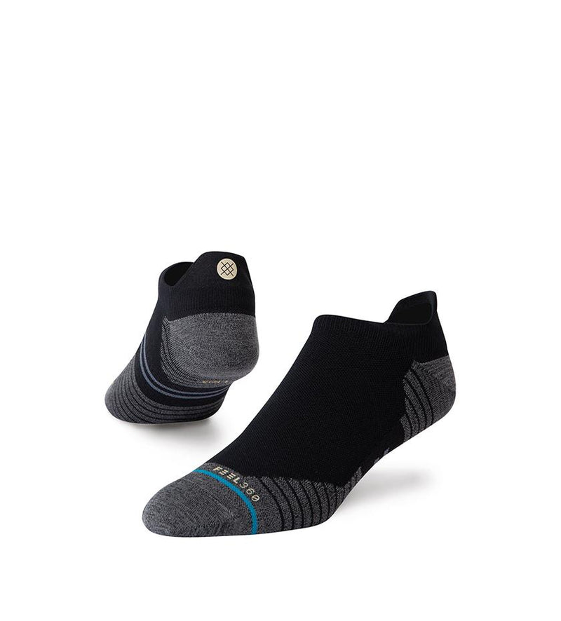 Run Light Tab ST Socks (Black)