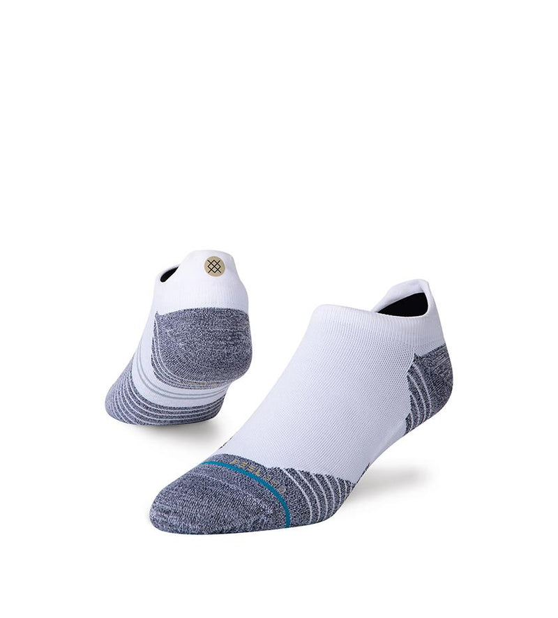 Run Light Tab ST Socks (White)