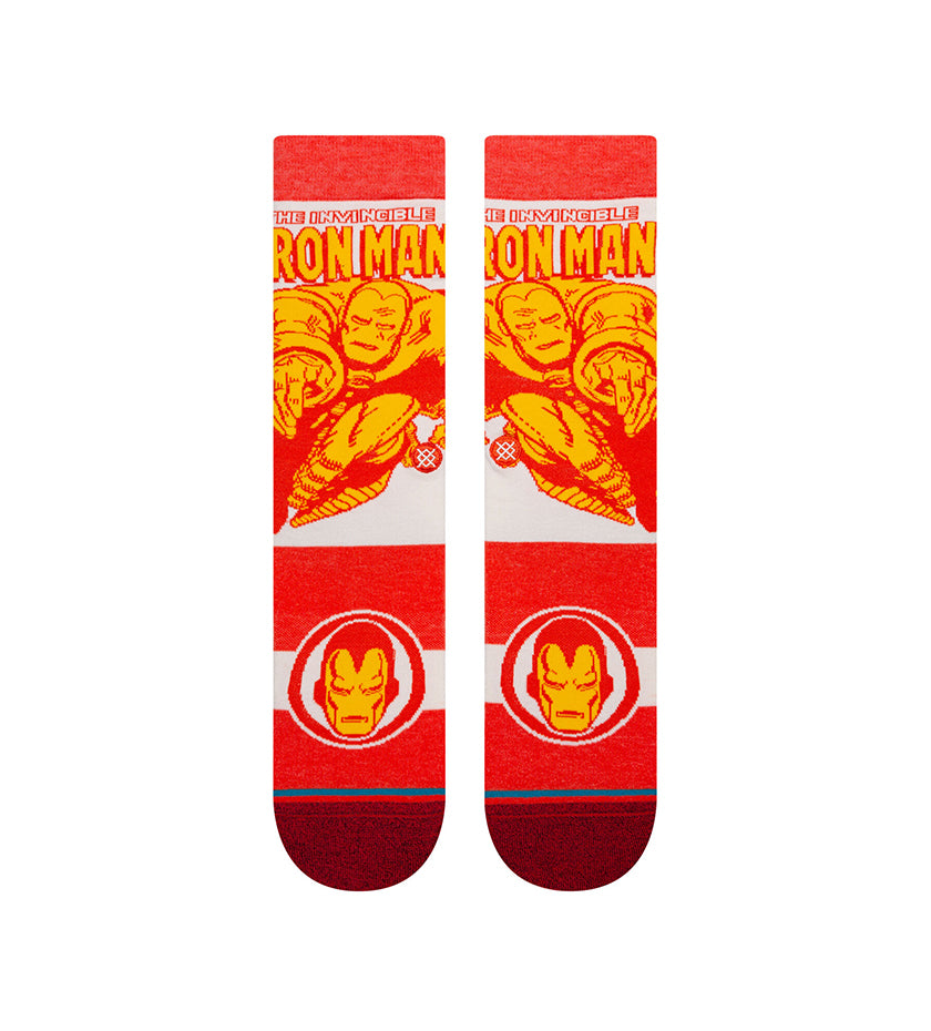 Iron Man Marquee Socks (Red)