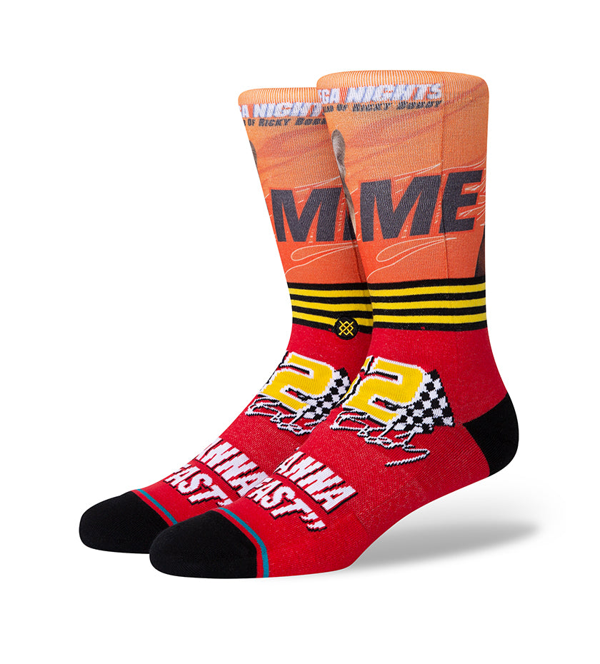 I Wanna Go Fast Socks (Red)