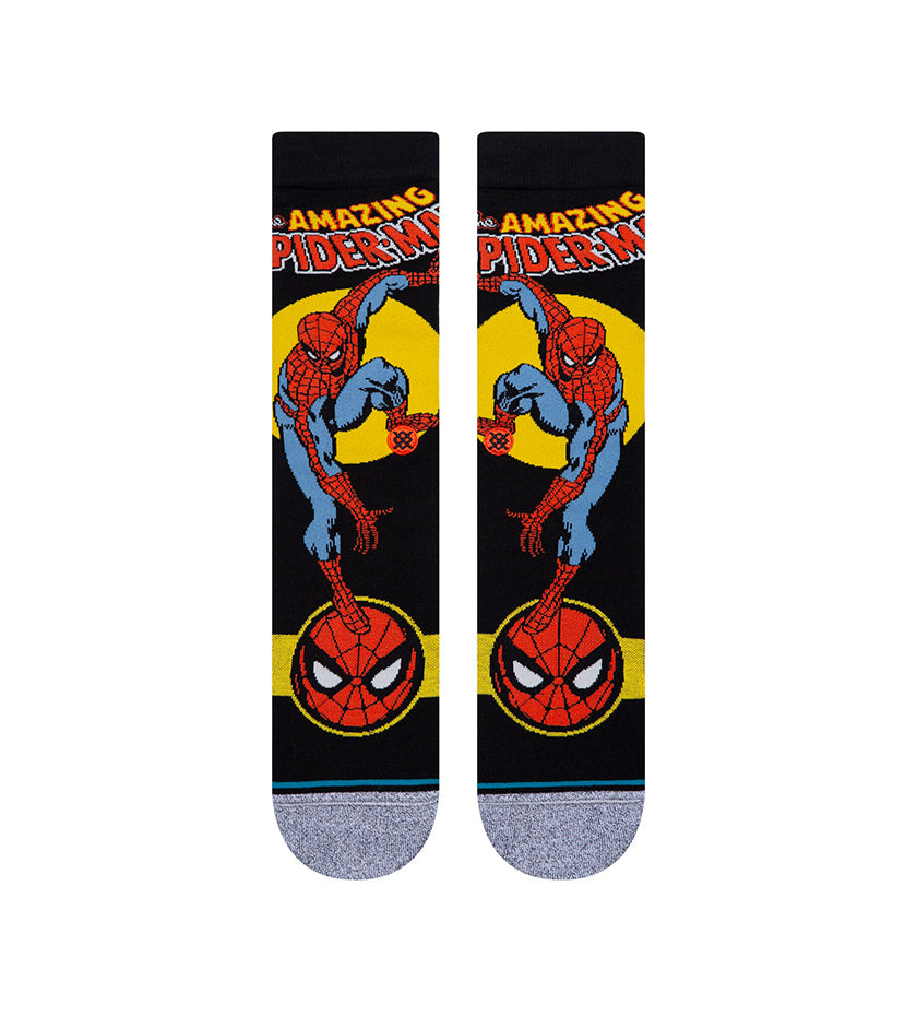Spider Man Marquee Socks (Black)