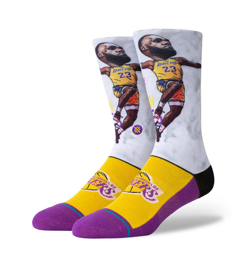 LBJ Big Head Socks (Multi)