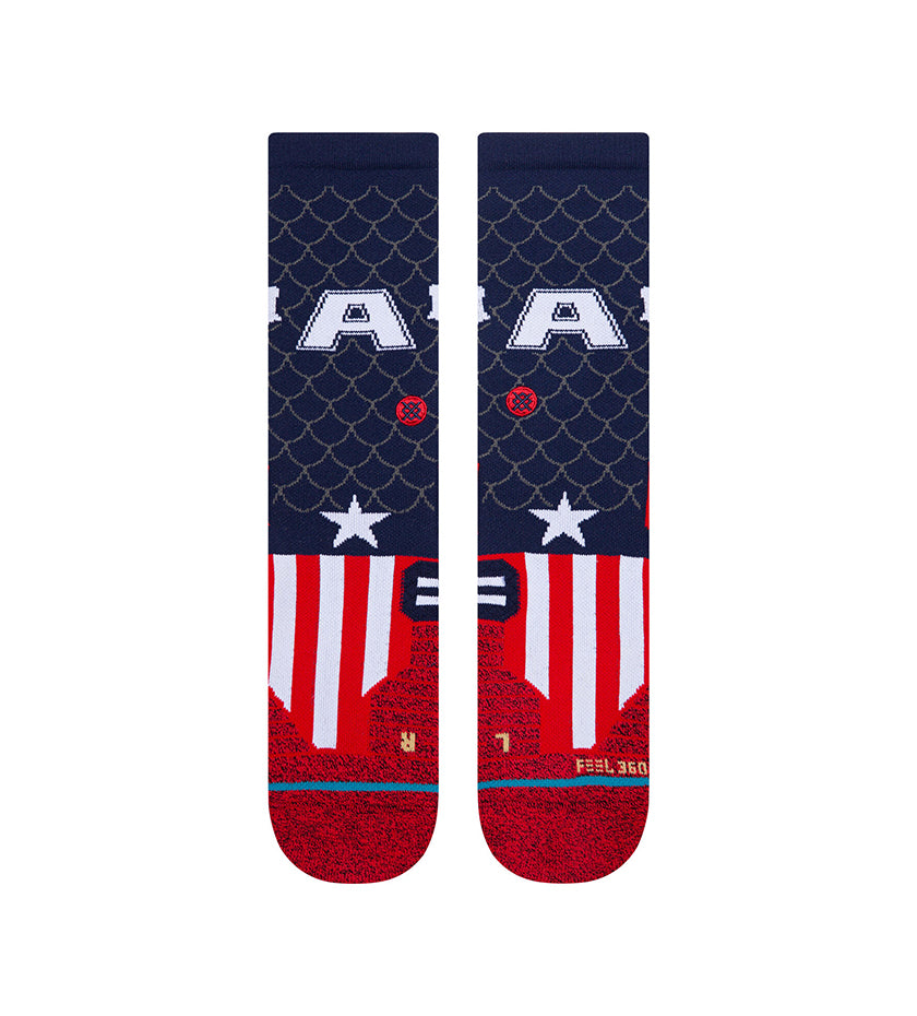 Captain Crew Socks (Navy)