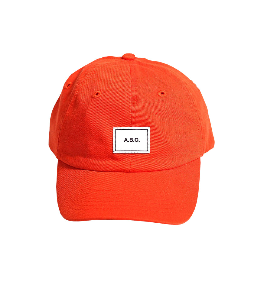 A.B.C. Dad Hat (Orange)