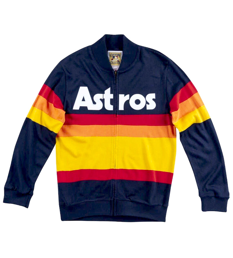 Authentic 1988 Houston Astros Front-Zip Sweater