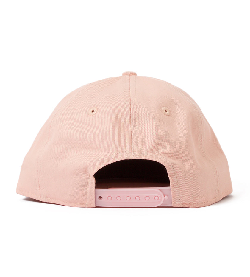 BXR Stack Strapback Hat (Dusty Rose)