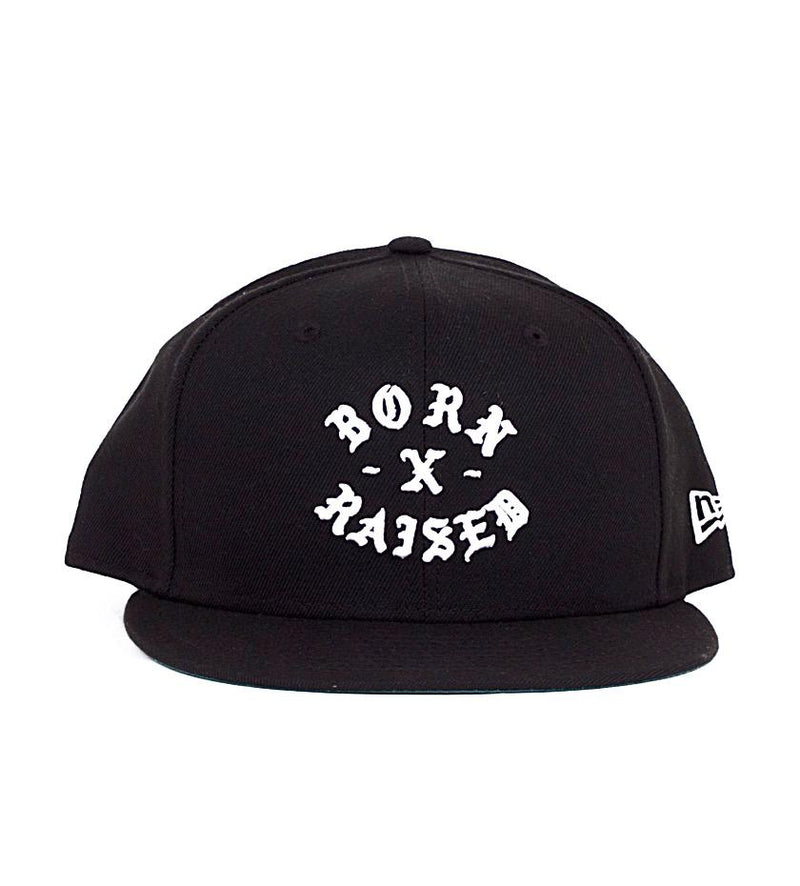 Rocker Fitted Cap (Black/White)