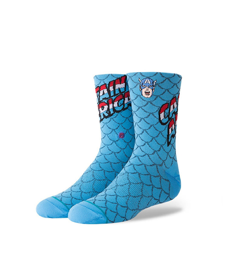 Captain America Kids Socks