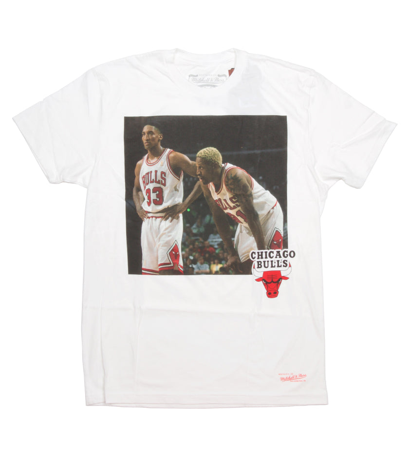 Chicago Bulls NBA Photo Real Tee (White)