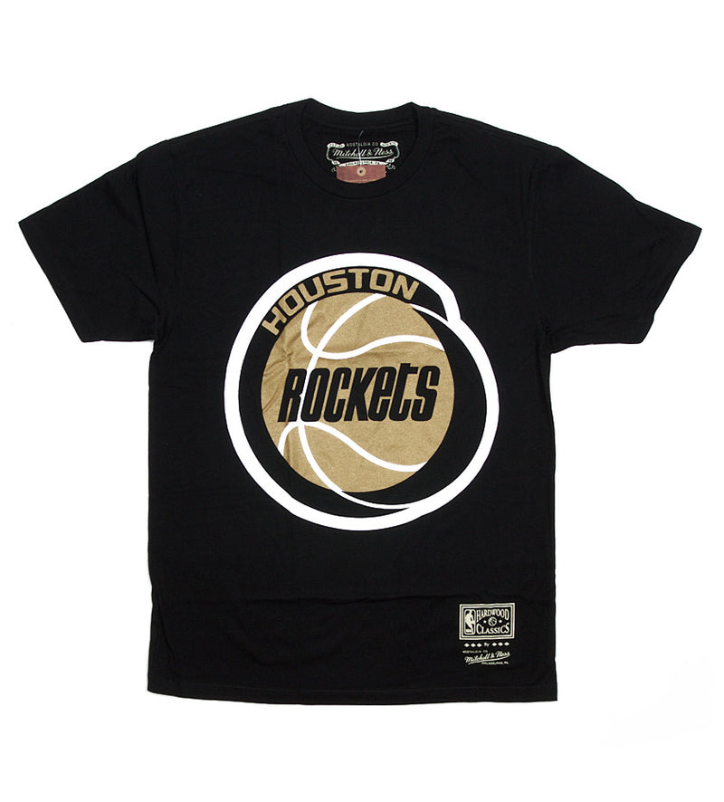 Houston Rockets Gold Standard S/S Tee (Black)