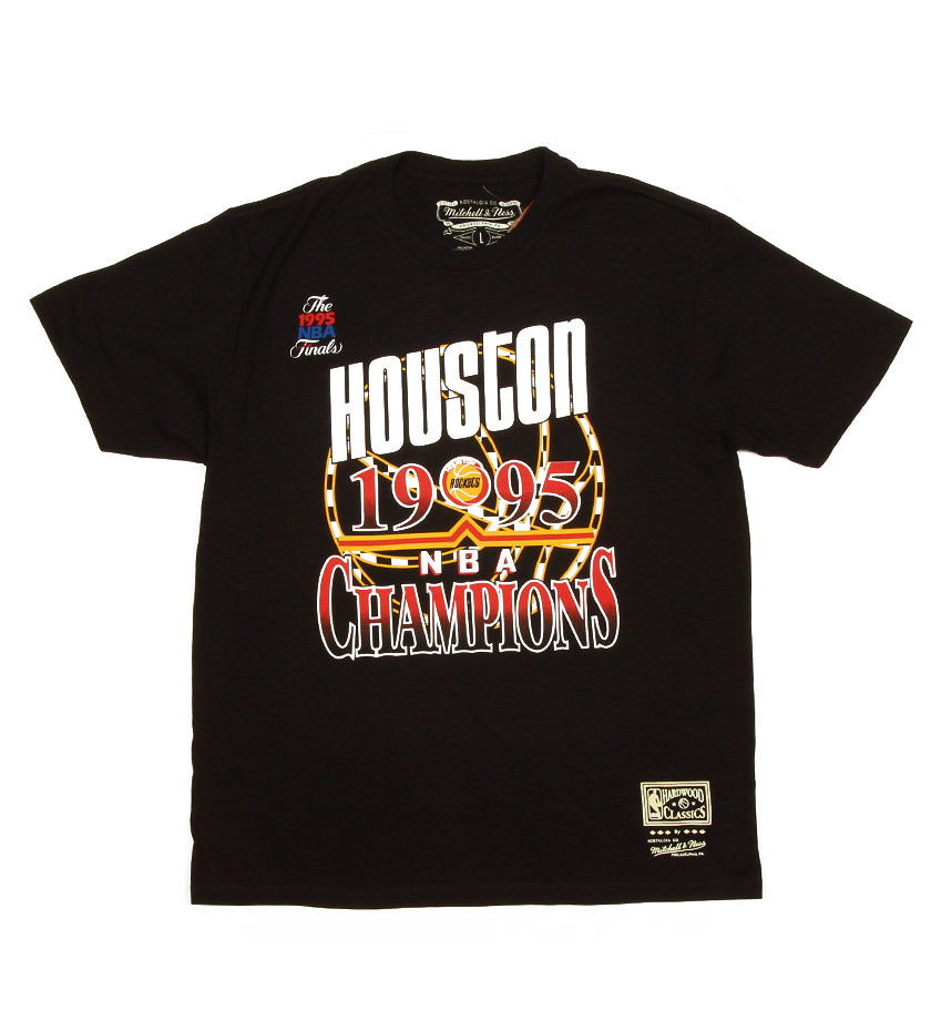 Checked 1996 Championship Houston Rockets Tee (Black)