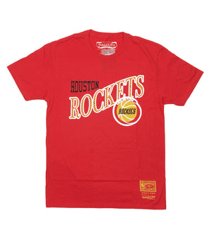Houston Rockets Side to Side Tee (Red)