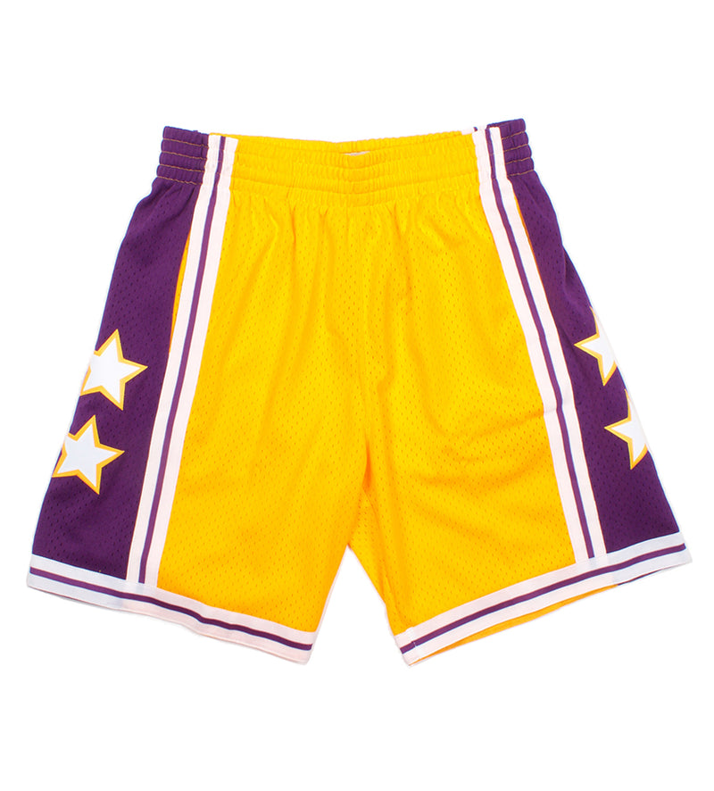 1972 All Star West Swingman Short (Yellow)