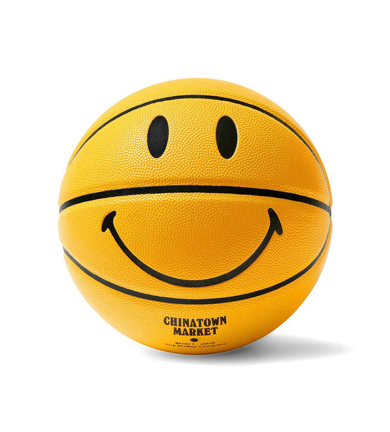 Smiley Basketball (Yellow)