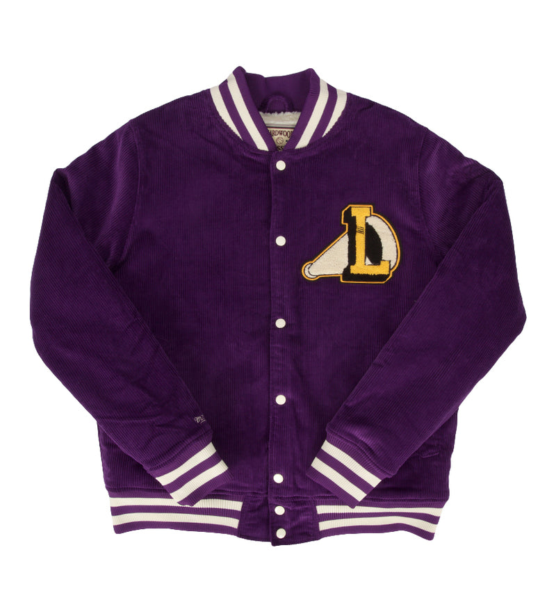 LA Lakers The Scotch Varsity Jacket (Purple)