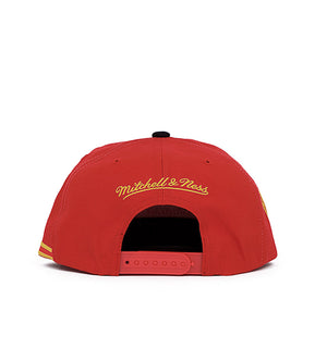 Houston Rockets Side To Side Snapback (Red)