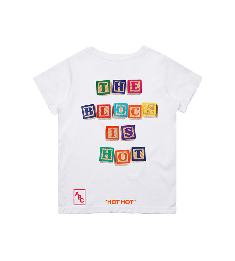 The Block Is Hot Tee (White)