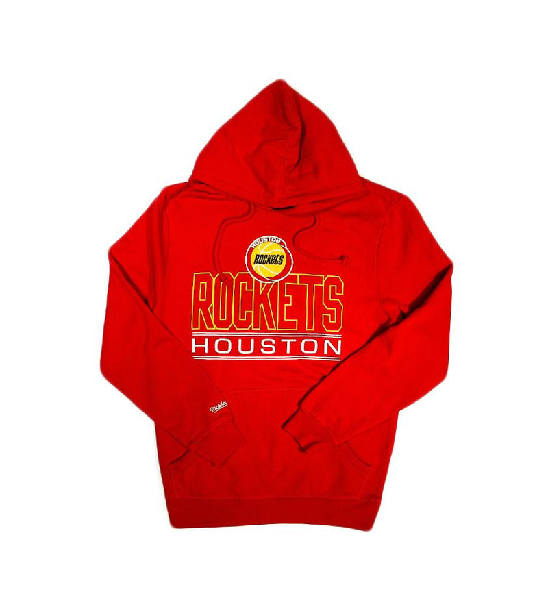 Houston Rockets Blocked Shot Hoodie (Red)