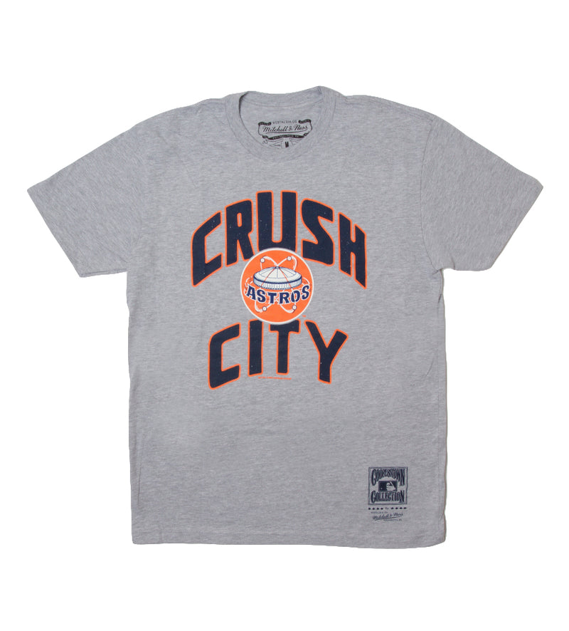 Astros Orange Crush Tee (Grey Heather)