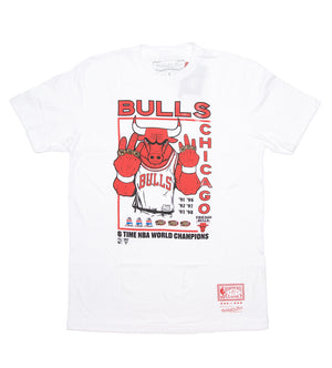 Chicago Bulls Champions Tee (White)