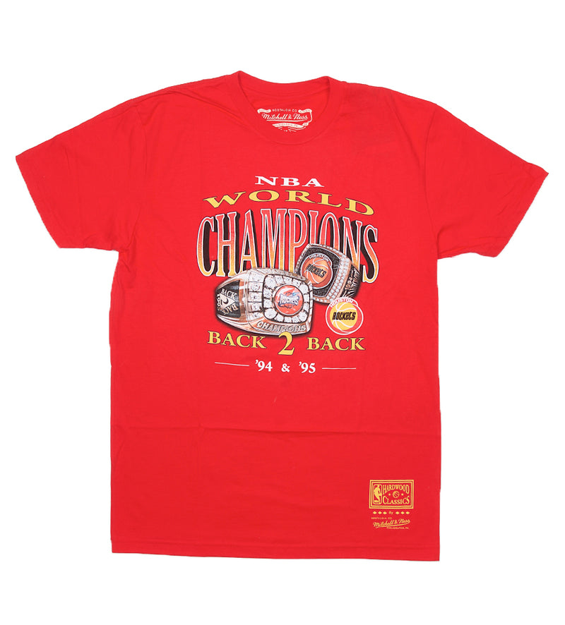 Houston Rockets Champions Tee (Red)