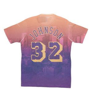 Los Angeles Lakers City Pride N&N Magic Johnson S/S Tee (Purple)