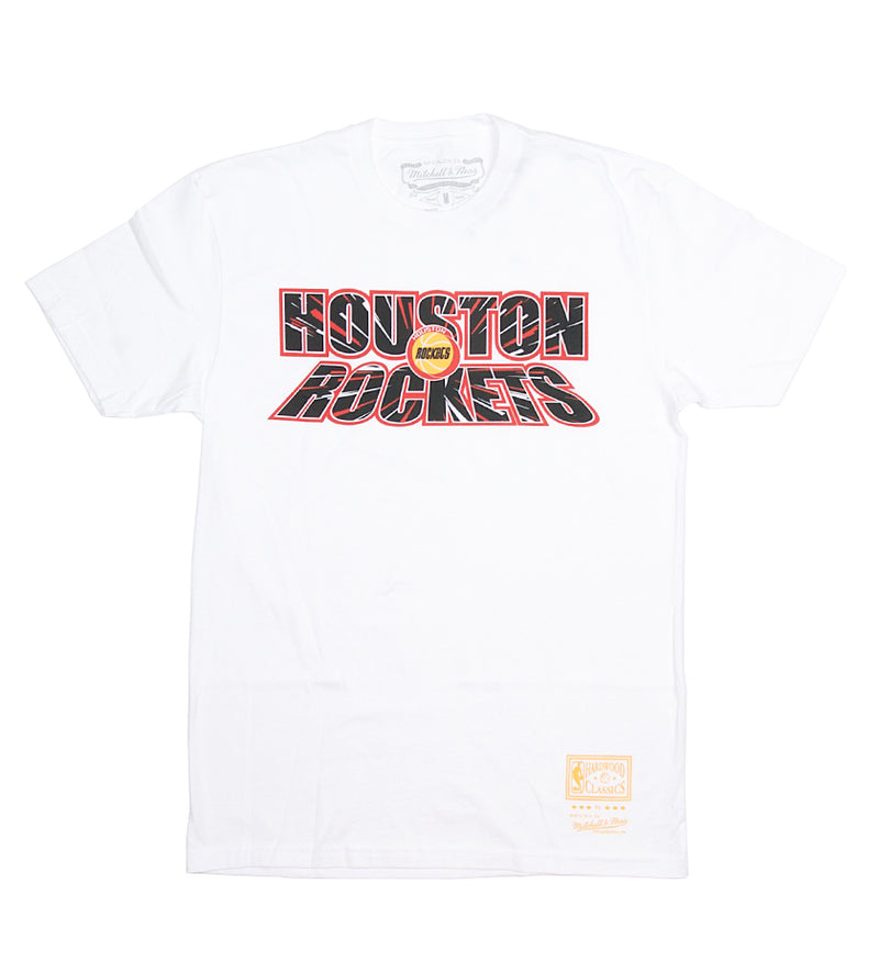 Rockets NBA Nucleo S/S Tee (White)