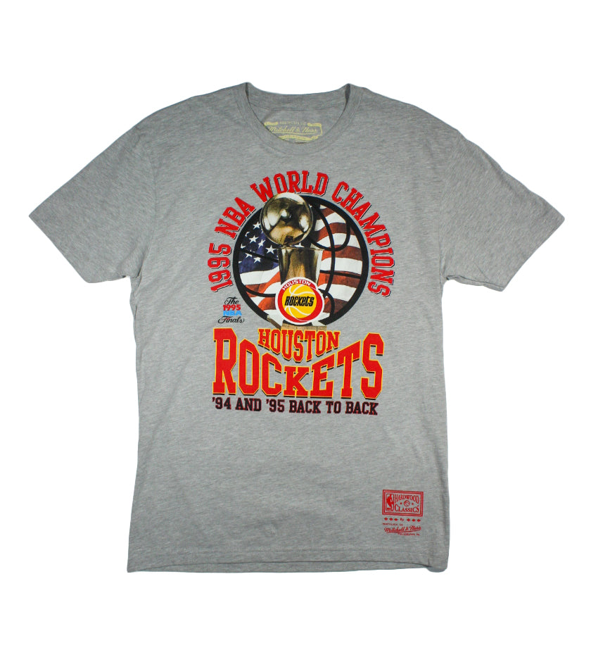 Houston Rockets NBA Champs Tee (Heather Grey)